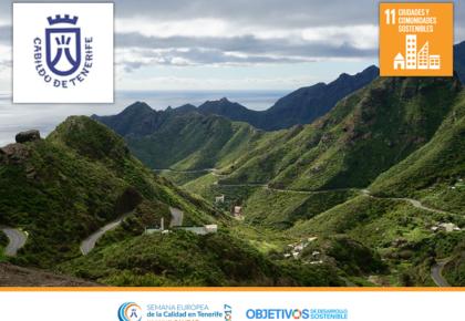 """Campaña de comunicación """"Carreteras limpias: Un gesto por el paisaje». ODS-11. Cabildo de Tenerife"""