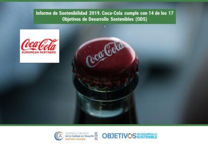 Informe de Sostenibilidad 2019 de Coca Cola.