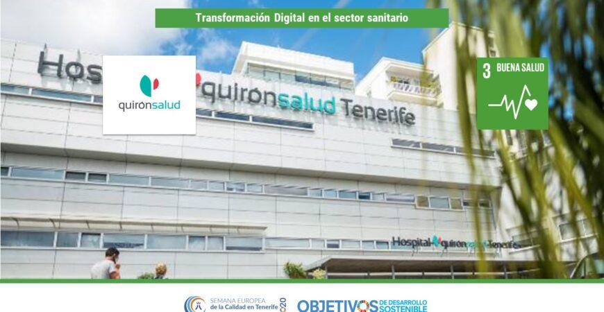 Transformación Digital en el sector sanitario. ODS 3. Quirón Salud