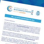 El Cabildo de Tenerife anima a participar activamente en los actos de la nueva edición de la Semana Europea de la Calidad que se desarrollará durante el mes de noviembre